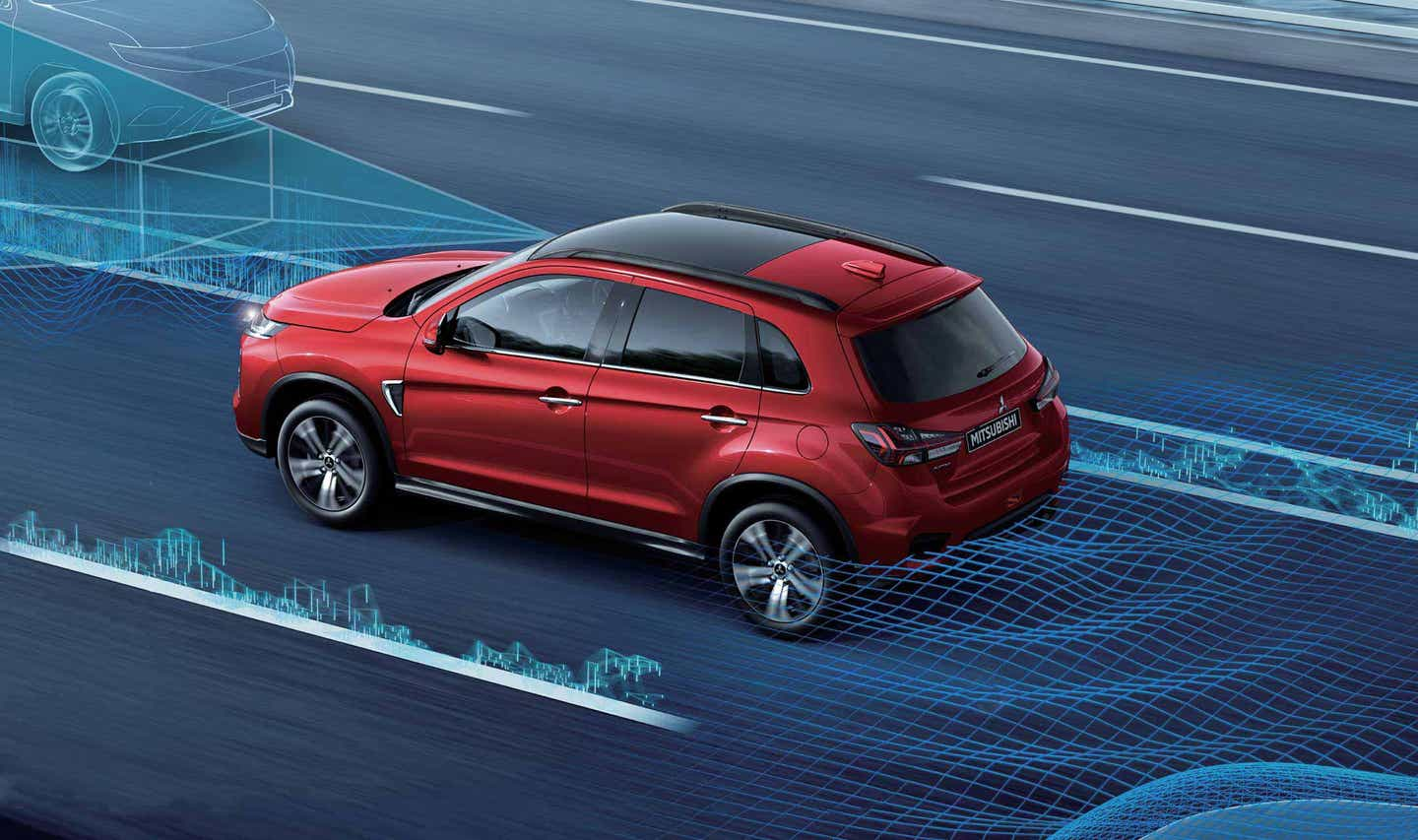 ACTIVE STABILITY CONTROL WITH TRACTION CONTROL ASX