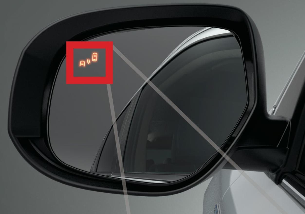 Blind Spot Warning Outlander