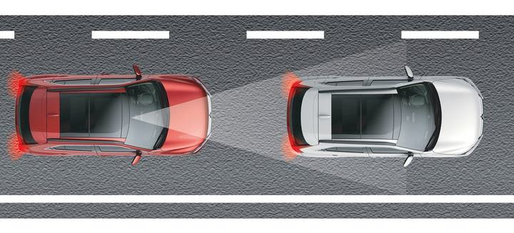 Safer in the event of a collision Eclipse Cross