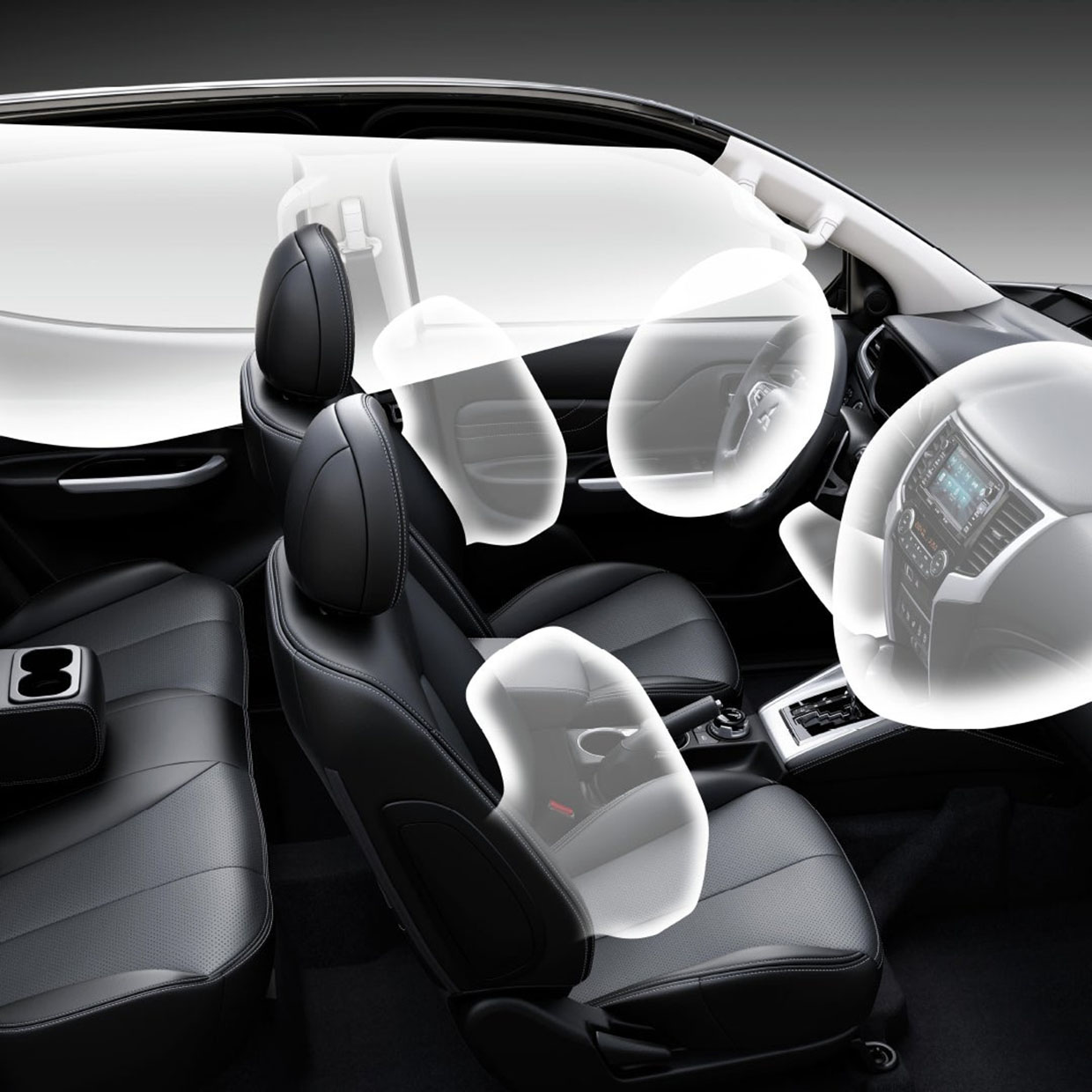 airbags 1 L200