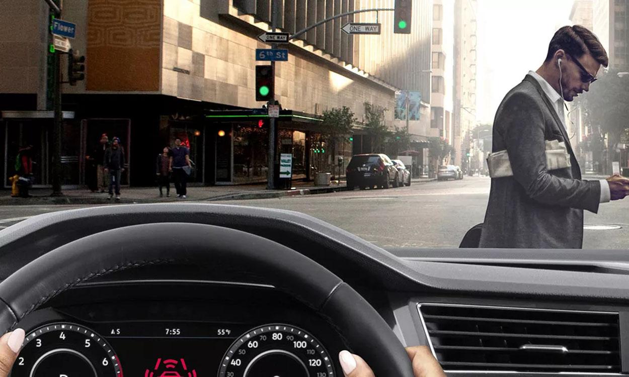 driver assistance Tiguan