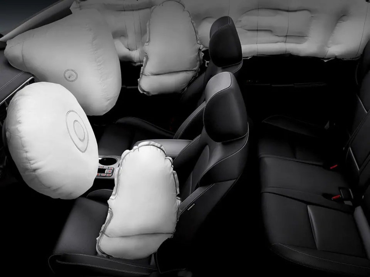 6 airbags Sportage