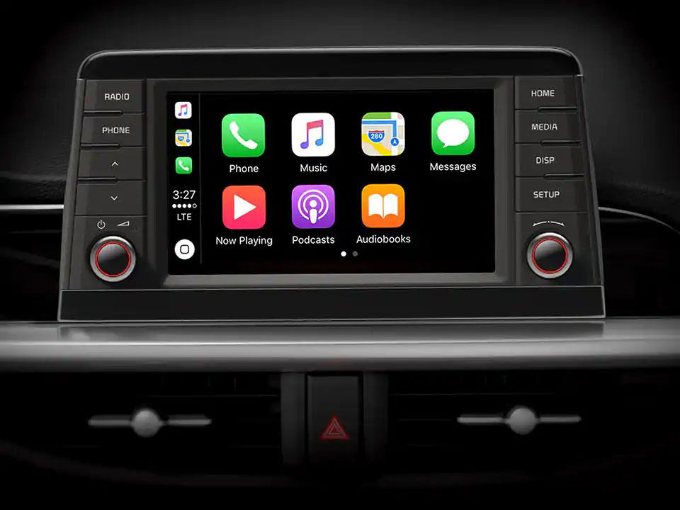 7 inch Touchscreen Audio with Bluetooth Carplay and Android Auto Picanto