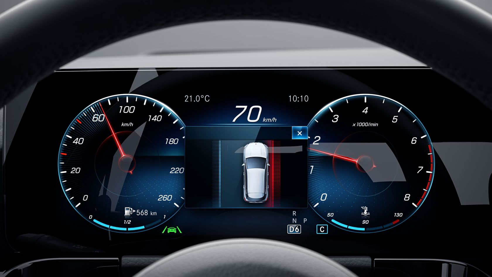 Driving Assistance Package GLA