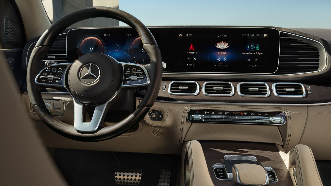 Fully digital Widescreen Cockpit GLS