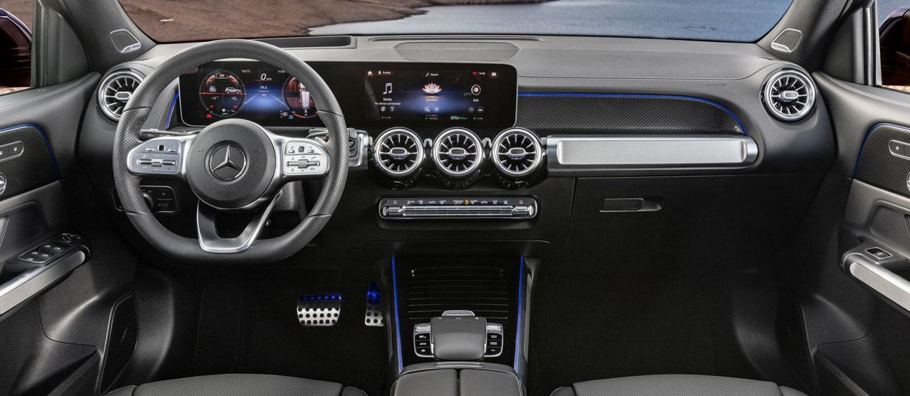 Multifunction steering wheel GLB