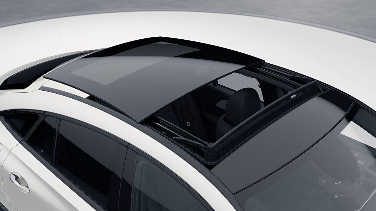 Panoramic sliding sunroof GLE Coupé