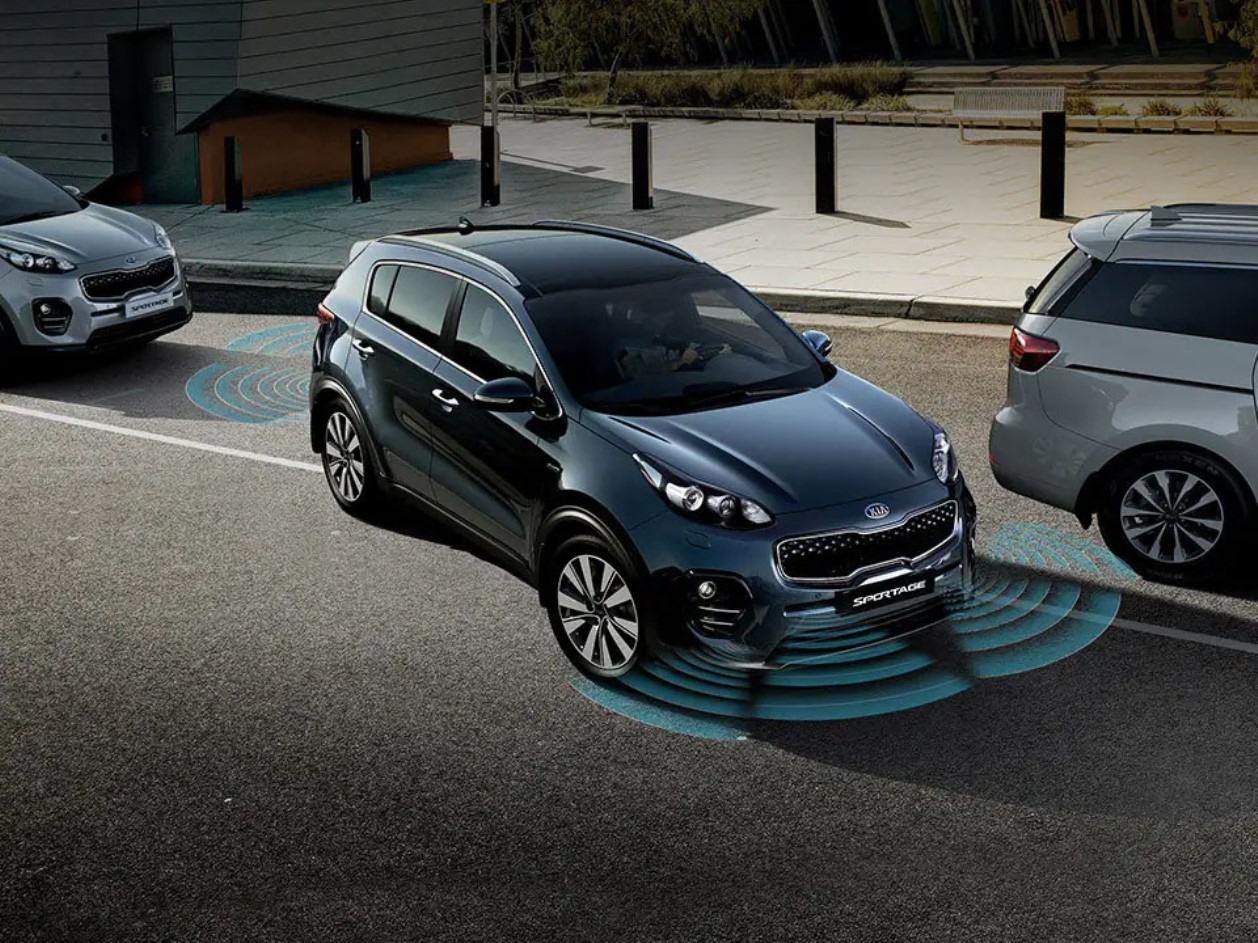 Park Distance Warning with Front and Rear Sensors Sportage