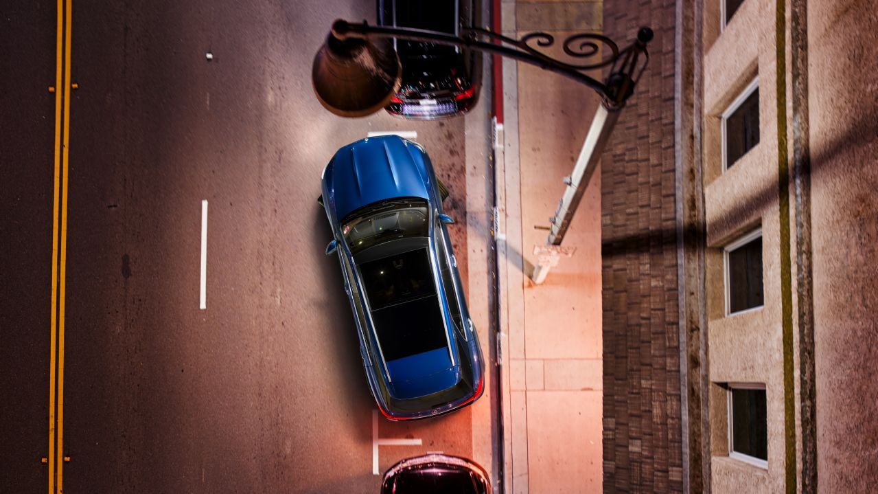 Parking package with 360° camera. GLE