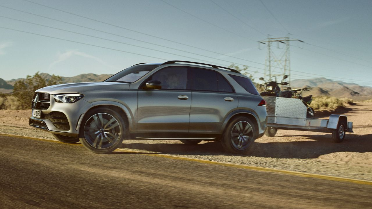Trailer Manoeuvring Assist GLE