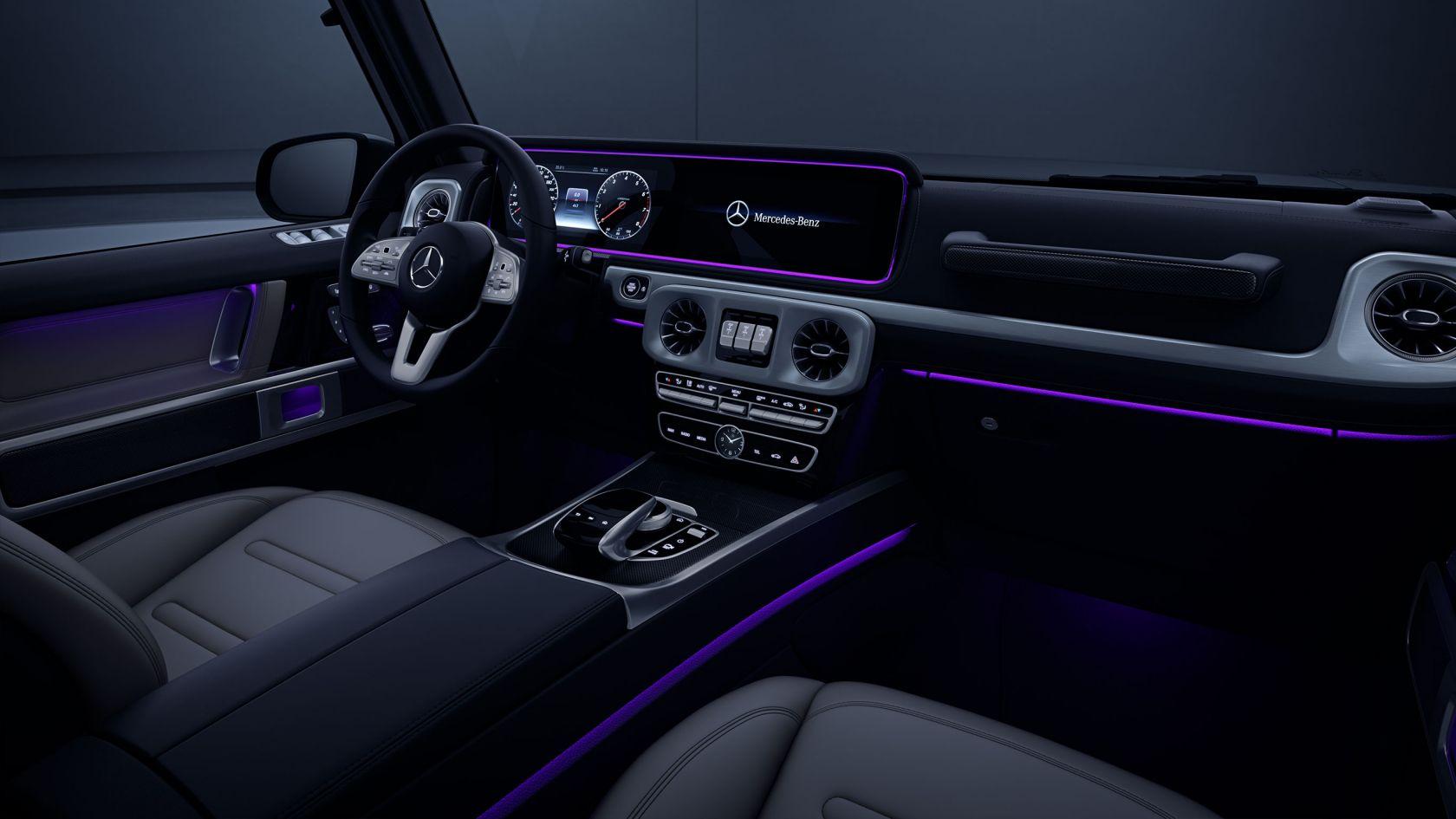 ambient lighting G-Class