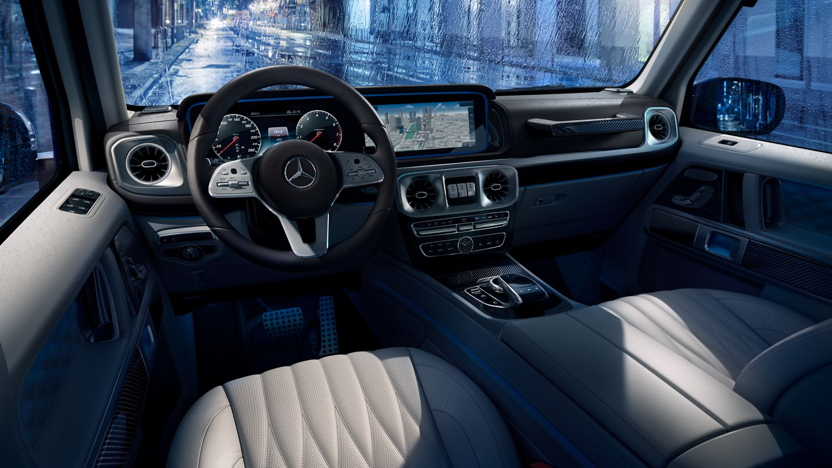 boundless space G-Class
