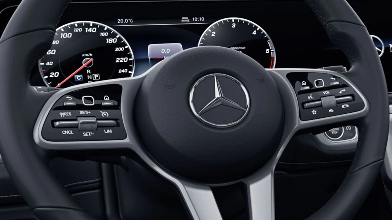 driving assistance and safety 1 G-Class