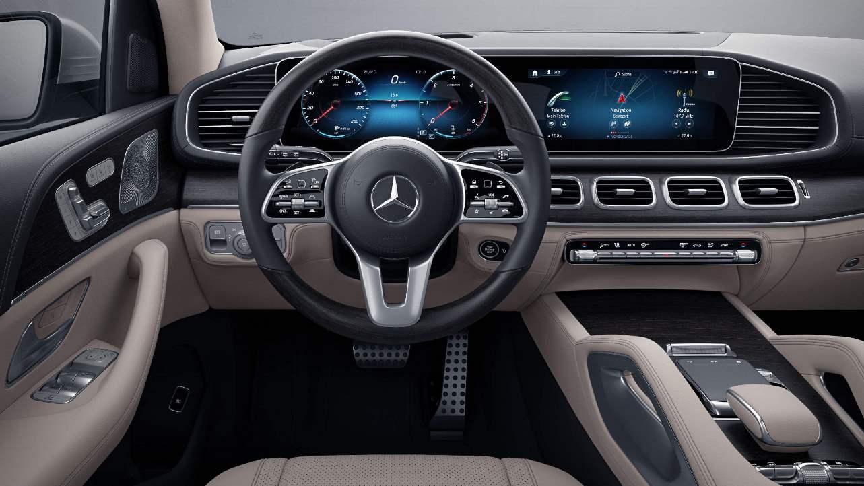 multifunction steering wheel GLS
