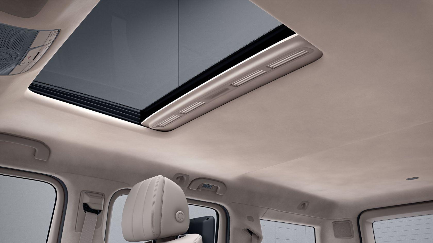 sliding sunroof G-Class