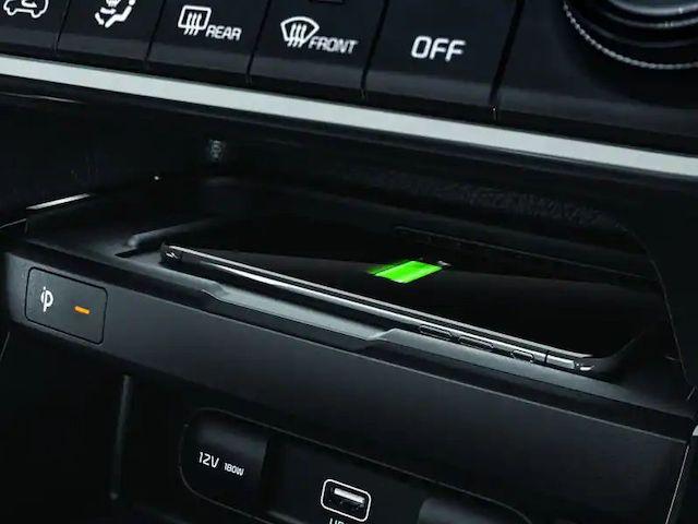 184474 fast wireless charging Seltos