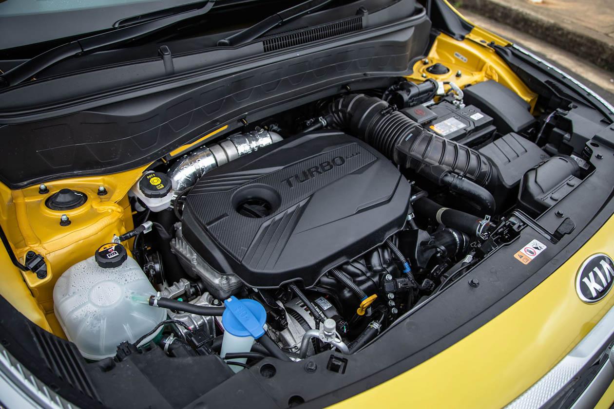 2021 Kia Seltos GT Line engine Seltos