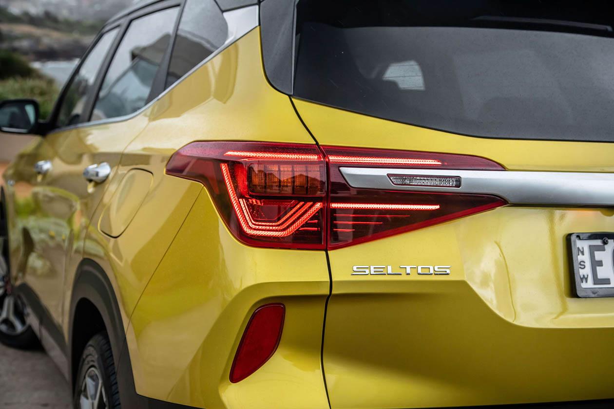2021 Kia Seltos GT Line taillight Seltos