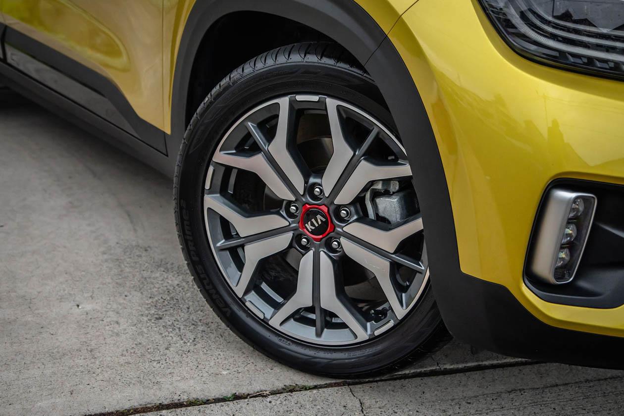 2021 Kia Seltos GT Line wheel Seltos